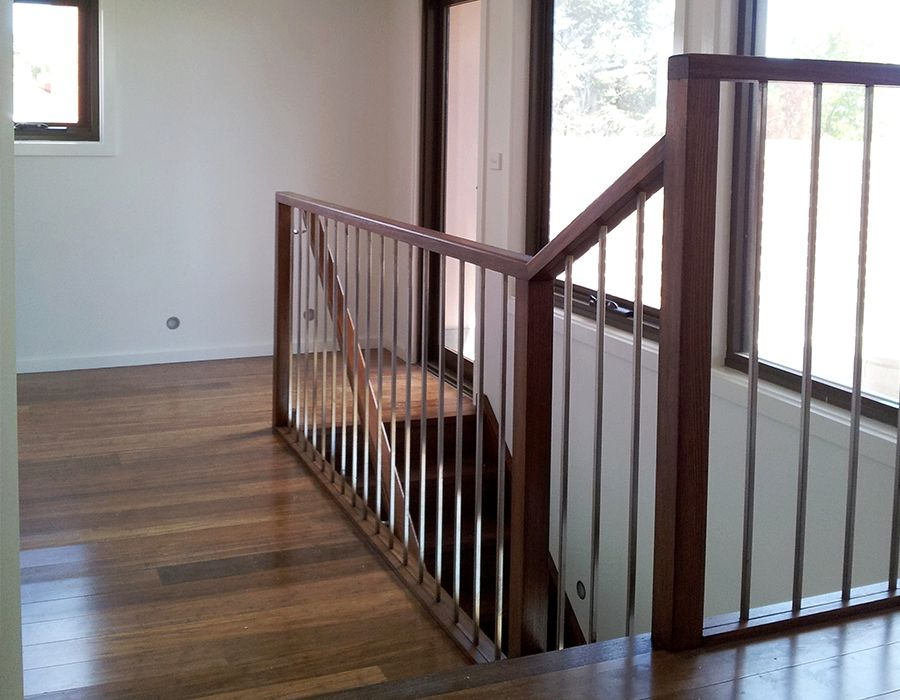 Wooden Stairs Paint | 1800 All Painting